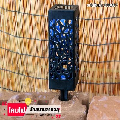 โคมไฟ LED พลังงานแสงอาทิตย์ กันน้ำ  เปิด-ปิด อัตโนมัติ