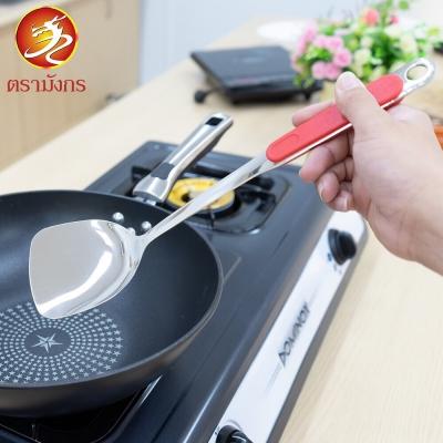 อุปกรณ์ทำอาหาร (กระบวย/ทัพพี/ตะหลิว) ได้ 1 ชิ้น  ด้ามจับสีแดง