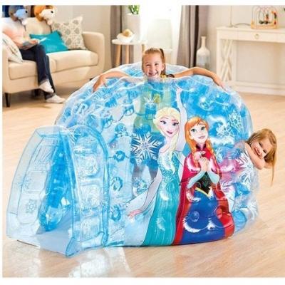 INTEX เต็นท์เป่าลม 157x107x185 CM บ้านเป่าลม อุโมงค์น้ำแข็ง Frozen Ball Toyz Igloo