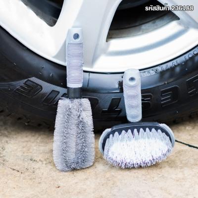 แปรงทำความสะอาดล้อรถแบบถอดเปลี่ยนหัวแปรง