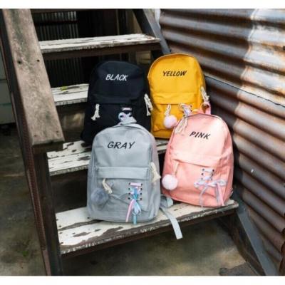Set กระเป๋า 4 ใบในเซ็ท ชื่อตามสี(ภาษาอังกฤษ) สุดคุ้ม มี 4 สีให้เลือก