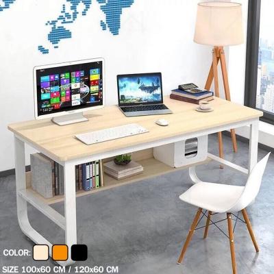 โต๊ะทำงานสไตล์โมเดิร์น มี 2 size 3 สี (ประกอบเอง)