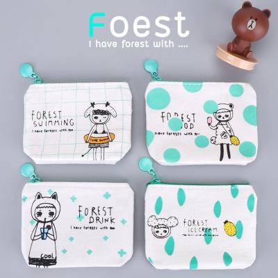 กระเป๋าใส่เหรียญ ลายกระต่าย FOREST ICE CREAM