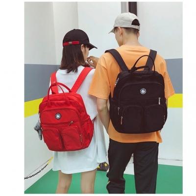 กระเป๋าเป้สไตล์เกาหลี แบบมีช่องใส่ของ ด้านหน้า มี 5 สี