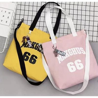 กระเป๋าผ้า ลาย MAKGUS มี 2 สี