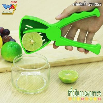ที่บีบน้ำส้มและมะนาว 1 ชิ้น/แพค สีเขียว
