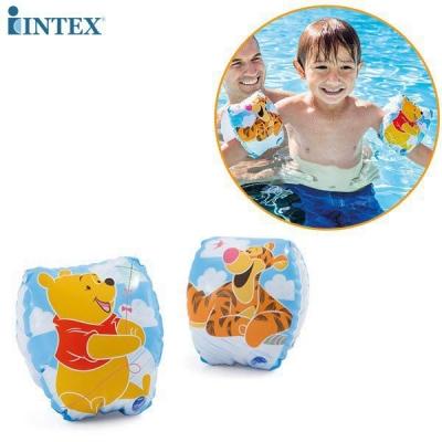 ห่วงยางสวมแขนว่ายน้ำ หมีพูห์ SMALL DELUXE ARM BANDS รุ่น 56663
