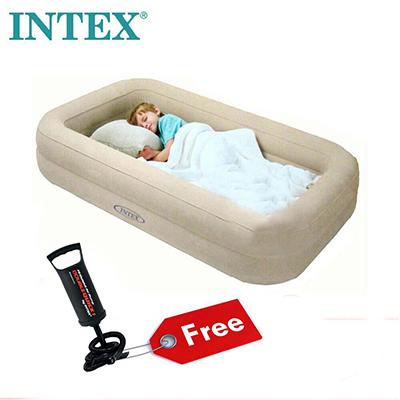 ที่นอนเป่าลม INTEX KIDZ แถมฟรี!! ที่สูบลม