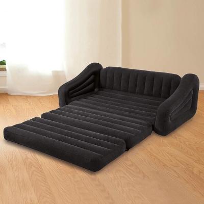 Intex โซฟาเป่าลมปรับเป็นเตียงนอนได้เตียงคู่ 1.93x2.31x0.71 ม. รุ่น 68566