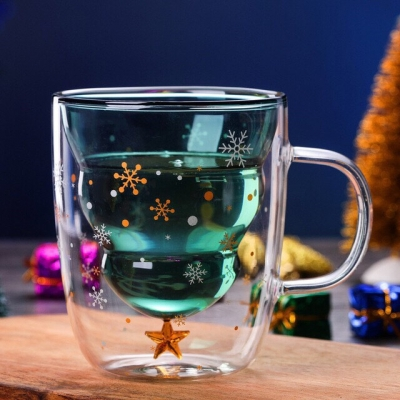 Christmas Double Wall Cup 250 ml.