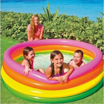INTEX สระน้ำเป่าลม สระน้ำเด็ก สวนน้ำเป่าลม Sunset Glow Pool