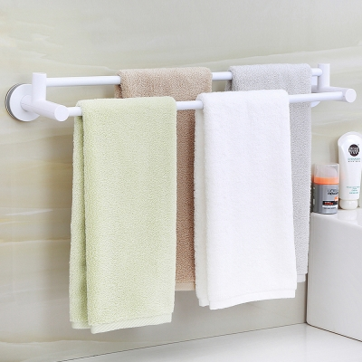 ราวแขวนผ้าในห้องน้ำ มี 2 สี (ประกอบเอง)