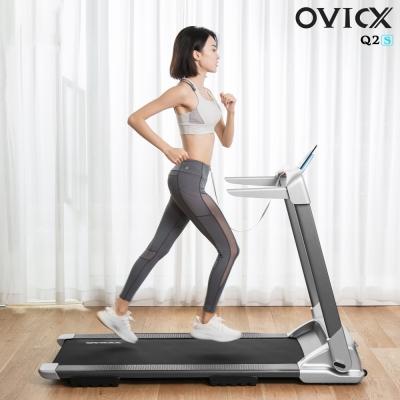 OVICX ลู่วิ่ง ไฟฟ้า ลู่วิ่ง พับเก็บได้ จัดส่งฟรีไม่ต้องประกอบ มอเตอร์3.0แรงม้า รุ่น Q2S Premium