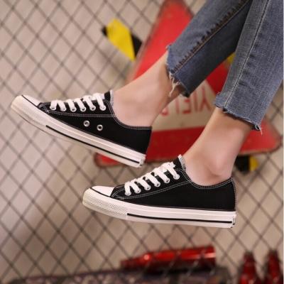 รองเท้าผ้าใบแฟชั่นผู้ชาย ทรงวัยรุ่นสุดจ๊าบ มี 3 สี คละ size