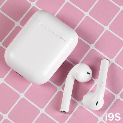 new หูฟังบลูทูธ i9s  สีขาว สุด cute
