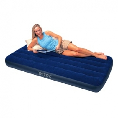 INTEX ที่นอนเป่าลม ที่นอน Classic Downy Airbed รุ่นPVC มี 2 size (ไม่มีที่สูบลมในเซ็ท)