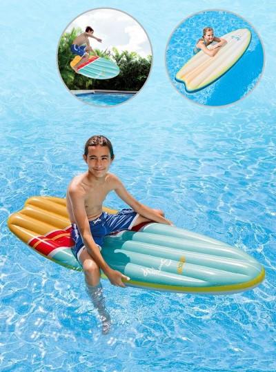 INTEX-58152 แพยางเป่าลม Surf's Up Mats