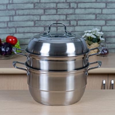 หม้อซึ้ง Star kitchen สแตนเลสสตีล  28 cm. (A3200)
