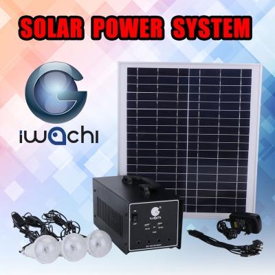 ชุดสำรองไฟ โซล่าเซลล์ (อเนกประสงค์) SOLAR POWER SYSTEM (IWC-SOLAR-POWER SUPPLY-12A)