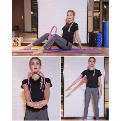 วงกลมโยคะ Yoga circle อุปกรณ์ออกกำลังกาย  มี 2 สี