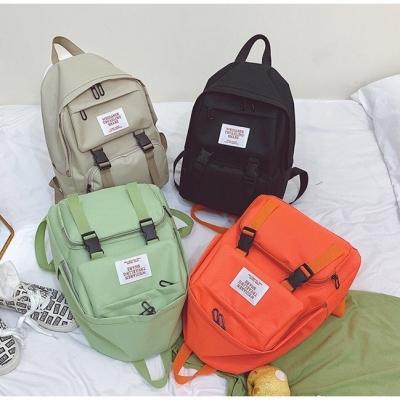 กระเป๋าเป้สีพาสเทล สะพายหลัง มี 4 สี