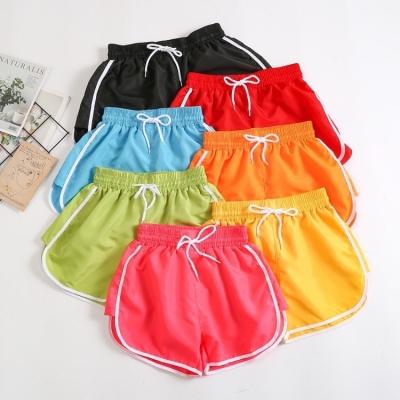 กางเกงขาสั้น ลายสปอร์ต สีสดใส มี 2 size มี 7 สี