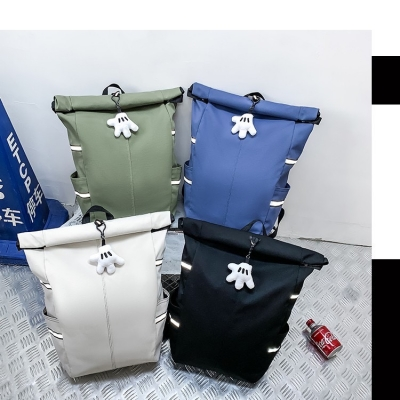 กระเป๋าเป้ ใบใหญ่สุดคุ้ม ห้อยตุ๊กตา มี 4 สี