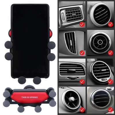ที่จับมือถือในรถยนต์ หมุนได้ 360 องศา