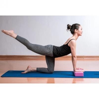 บล็อกโยคะ Yoga blockอุปกรณ์ออกกำลังกาย ฟิตเนส มี 7 สี