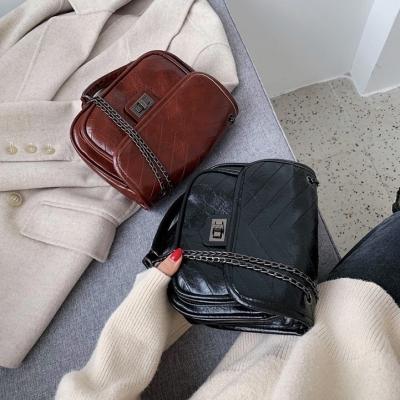 กระเป๋าสะพายข้างผู้หญิงสายโซ่ มี 3 สี